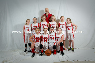Kingston Springs Lady Cardinals 4th Grade Girls Team Pictures