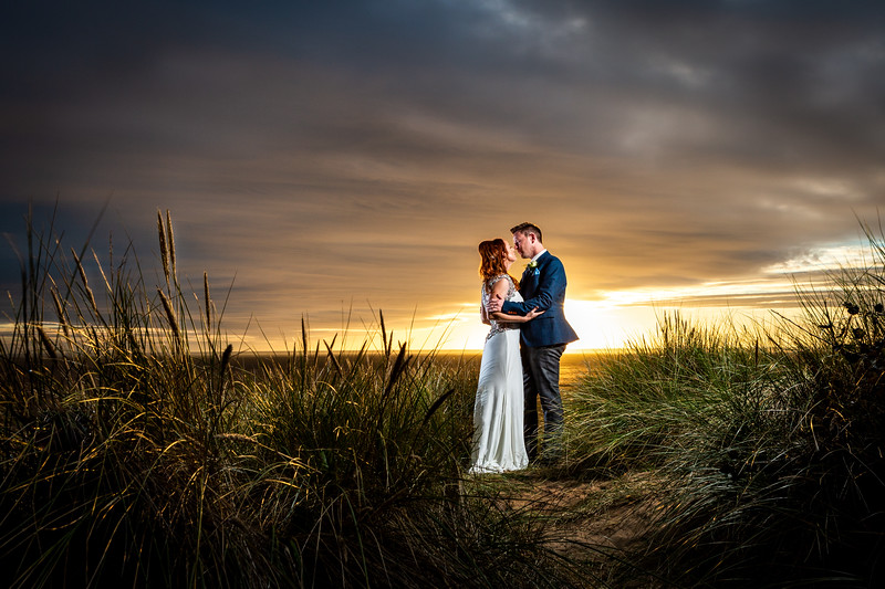 Gemma and Jason at The Best Western Plus Glendower Hotel, St Annes