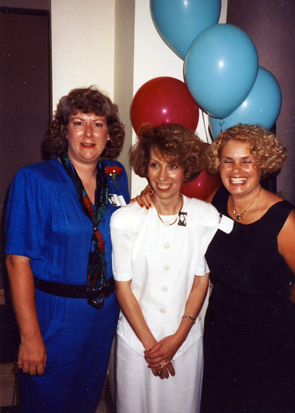 Debbie Rodgers Witherow, Linda Grieve, Carol Coakley Mills