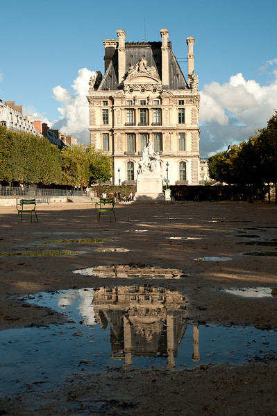 Louvre after the rain