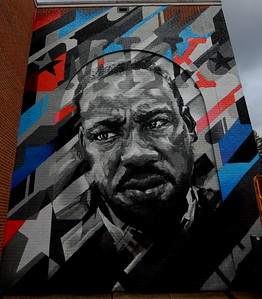 MLK Mural -- Ben Keller 01-19-21