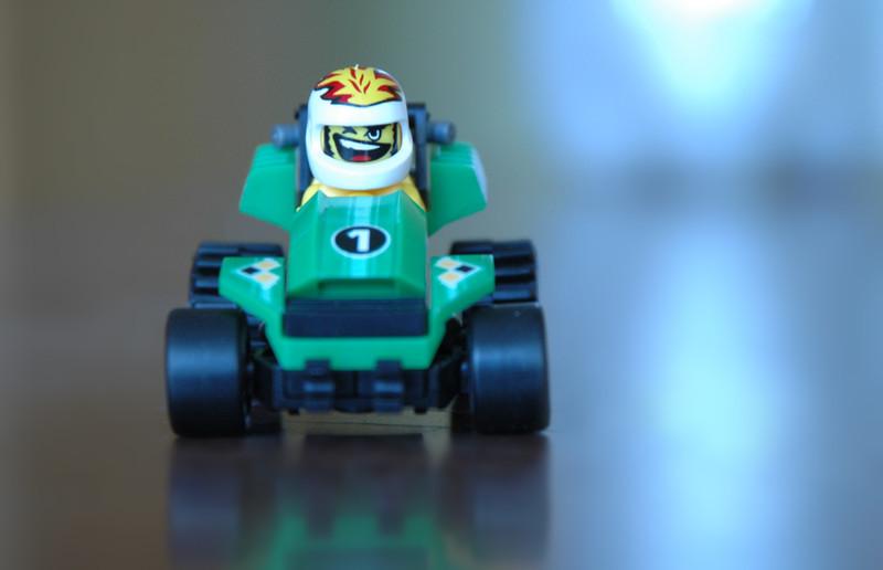 Сrazy toy racer