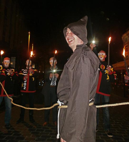 Prinsenconvent met de inauguratie van Ex-Prins Stasiu den Eerste