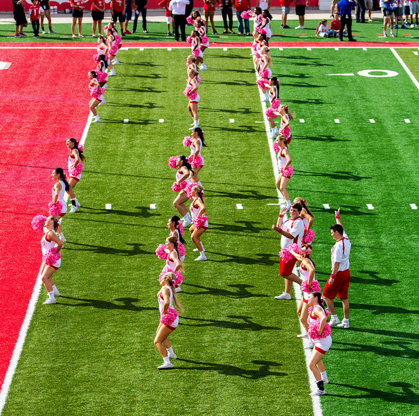 Cheerleader formation