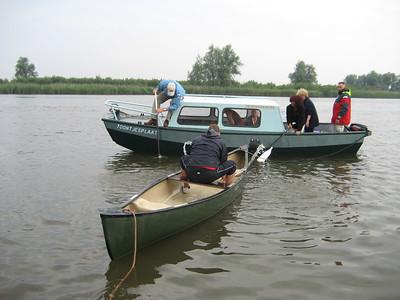 Bootje varen in Drimmelen 2006