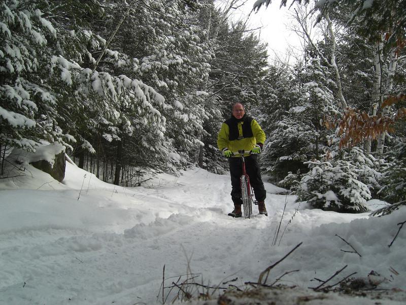 Icebiking, SLHS Trail, Christmas morning, 2009.CIMG0850.JPG