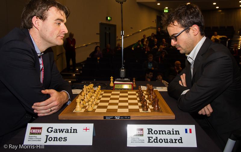 Gawain Jones vs Romain Edouard