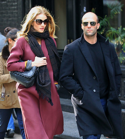 2011-12-16 - Jason Statham, Rosie Huntington-Whiteley