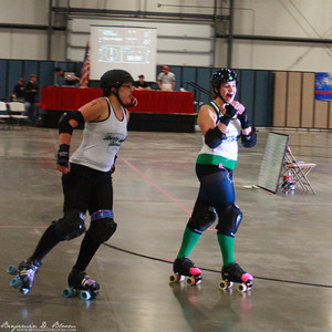 Green Mountain Derby Dames vs. ManchVegas Roller Girls