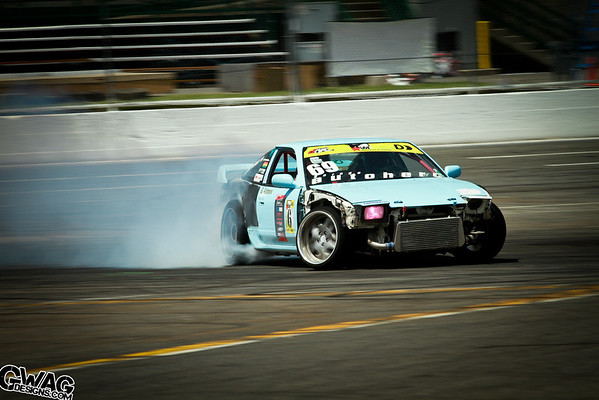 Evergreen Drift ProAm Round 2