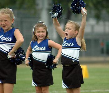 Shelby Lions Football Club - 2006 Flag Cheer Squad