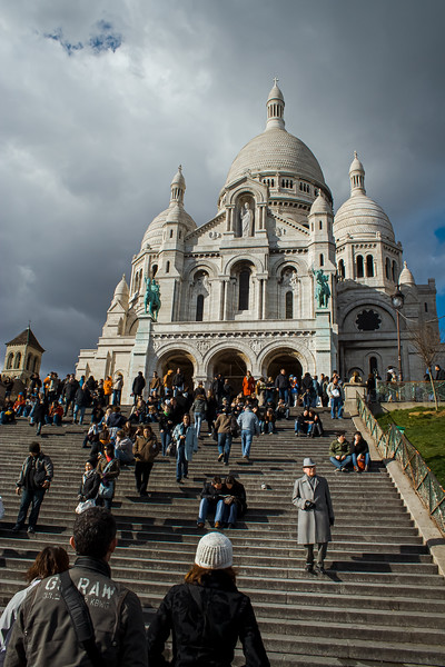 The Steps of Sacre Coeur