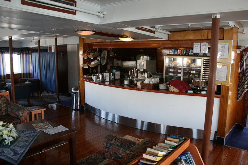 2009 - On board S/S KRISTINA REGINA : Cafè Navigare, deck 5.