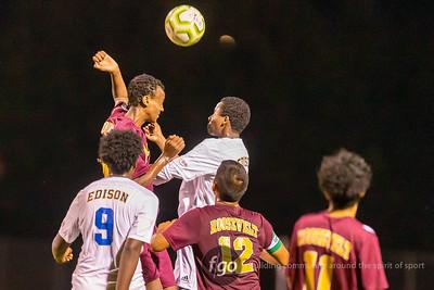 9-22-20 Minneapolis Edison at Roosevelt Boys Soccer
