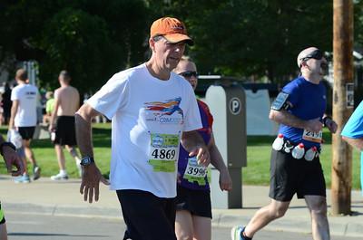 10 Mile at 9.75 miles - 2013 HealthPlus Crim Festival of Races