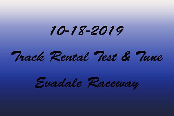 10-18-2019 Evadale Raceway 'Track Rental Test & Tune'