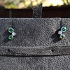 Tiffany & Co. Bubble Diamond and Tsavorite Earrings 16