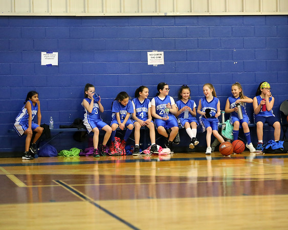 1-27-18 4th Grade Girls Lightning vs. Midland Park