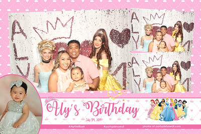 Aly's 1st Birthday (Vanity Magic Mirror)