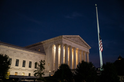 Ruth Bader Ginsberg Supreme Court Vigil