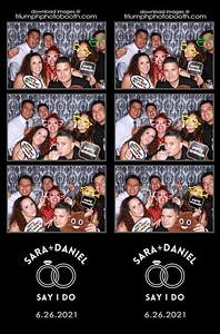 6/26/21 - Sara & Daniel Wedding