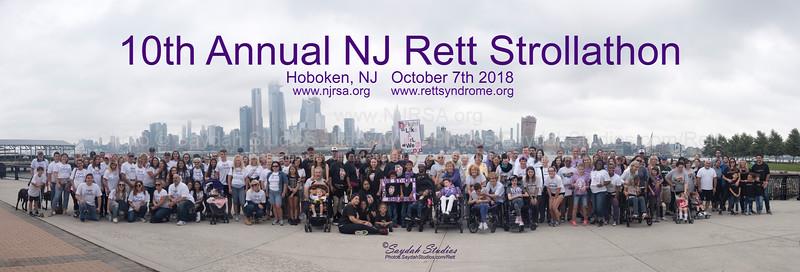 2018 NJ Rett Strollathon
