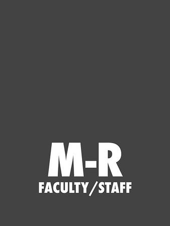 M-R (Faculty/Staff)
