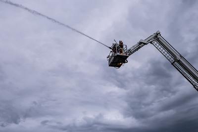 Brandweer - Oefening Vorsselmans 2014