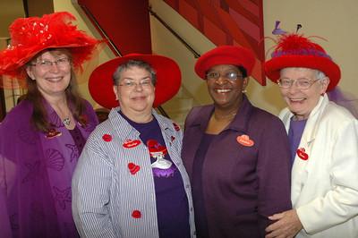 """Crowns """"Tea & Hats"""" plus Hat Fashion Show April 14, 2007"""
