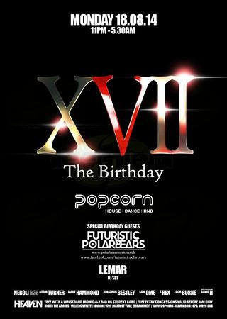 Popcorn XVII birthday