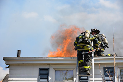 2 Alarm Structure Fire - Newtonville Ave, Fitchburg, Ma -  4/15/20