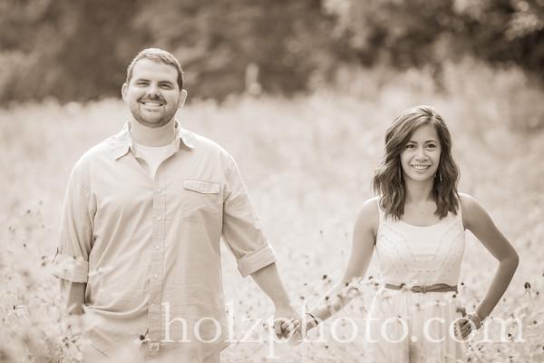 Joanna & Michael Creative Wedding Photos