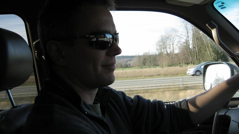 Driving home after visiting the Fremont ladybug.