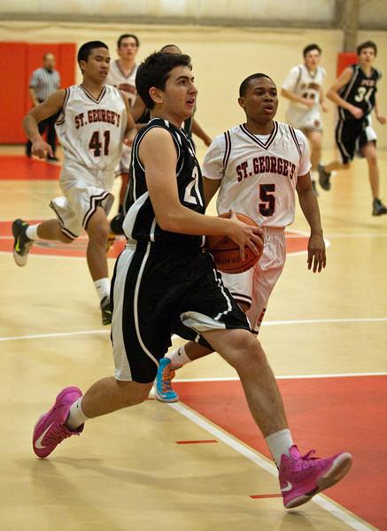 PCD JV Basketball St Georges - St Andrews