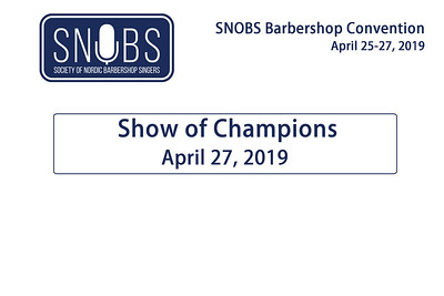 2019-0427 SNOBS Show of Champions