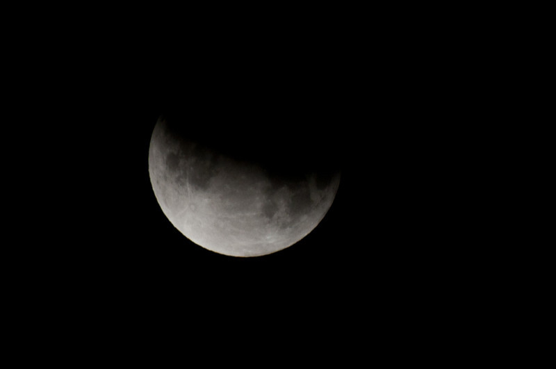 Lunar Eclipse Partial Moon @ 4:05am Saturday, June 26, 2010