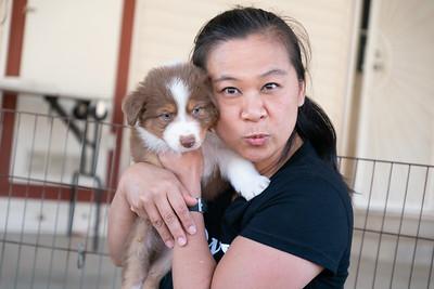 2019-09-21 Foxpointe Puppy Visit