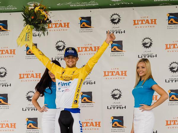 2015 Tour of Utah - Stage 3 - Antelope Island to Bountiful Utah