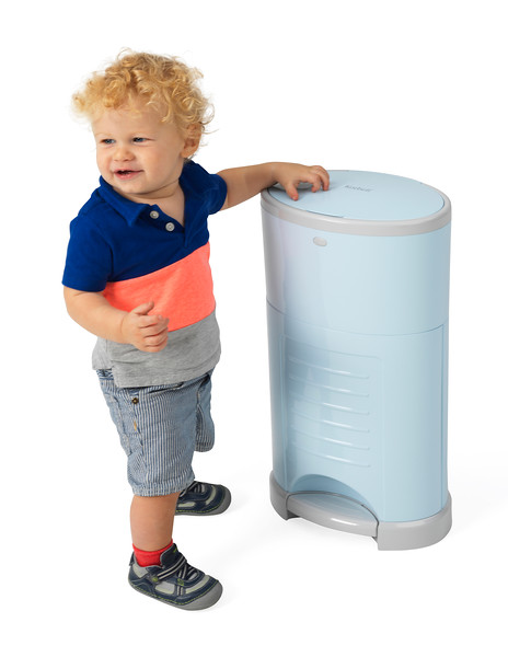 Korbell_Nappy_Bin_Lifestyle_Standard_16L_Pastel_Blue_Boy_And_Bin.jpg