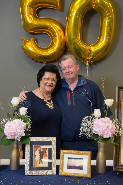 Williams 50th Wedding Anniversary