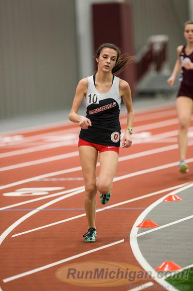 WHAC 2016 Indoor - 3000M Run Women