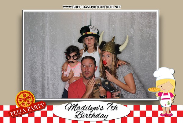Madilyn's 7th Birthday Photo Booth