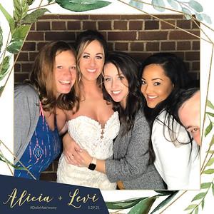 Alicia + Levi's Wedding