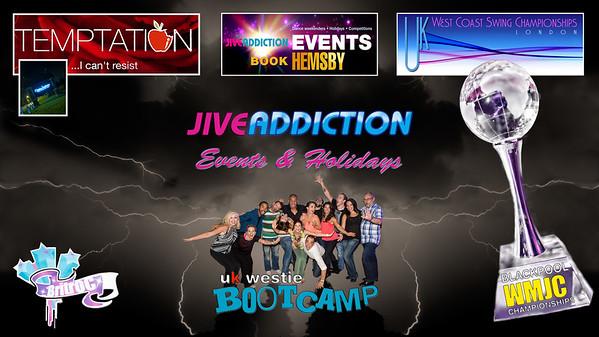 Jive Addiction Events