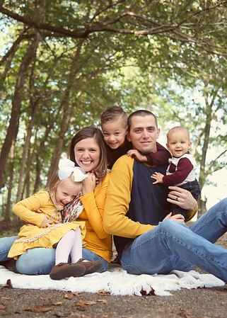 The Wellman Family -Fall<3