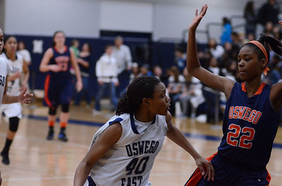 Oswego East Varsity girls Vs Oswego 2012