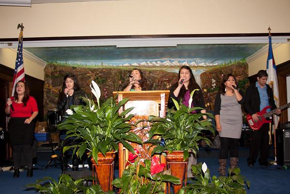 Confraternidad de Cultos de Hogar 3-25-2012