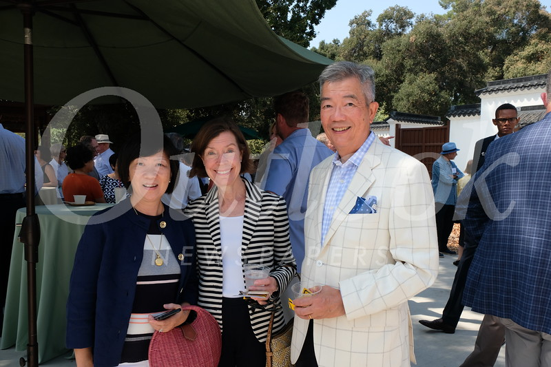 Alison Cheng, Christine Bender and K.Y. Cheng