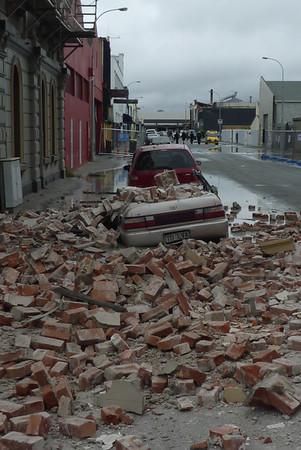 20110222 Trzesienie Ziemi w Christchurch - 6.3 w skali Richtera