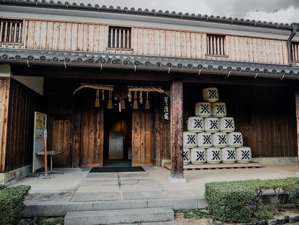 Sake-no-tsuru Museum in the Nada district. Editorial credit: Iryna Makukha / Shutterstock.com